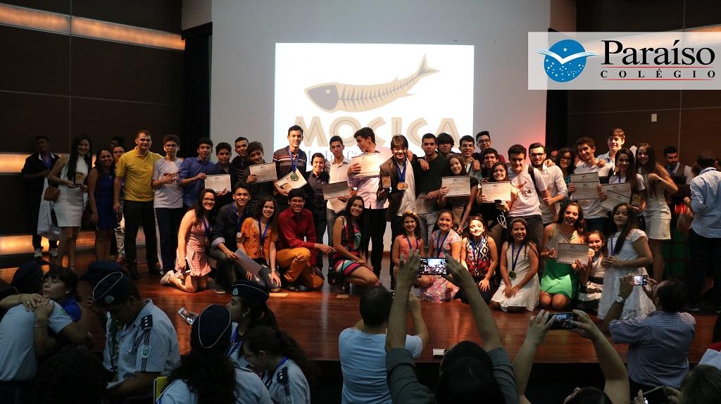 Colégio Paraíso é recordista em premiação na II Mostra Científica do Cariri