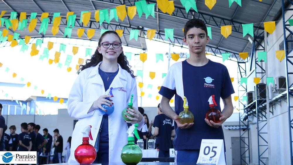 Sessenta projetos científicos são expostos na Mostra de Química 2018