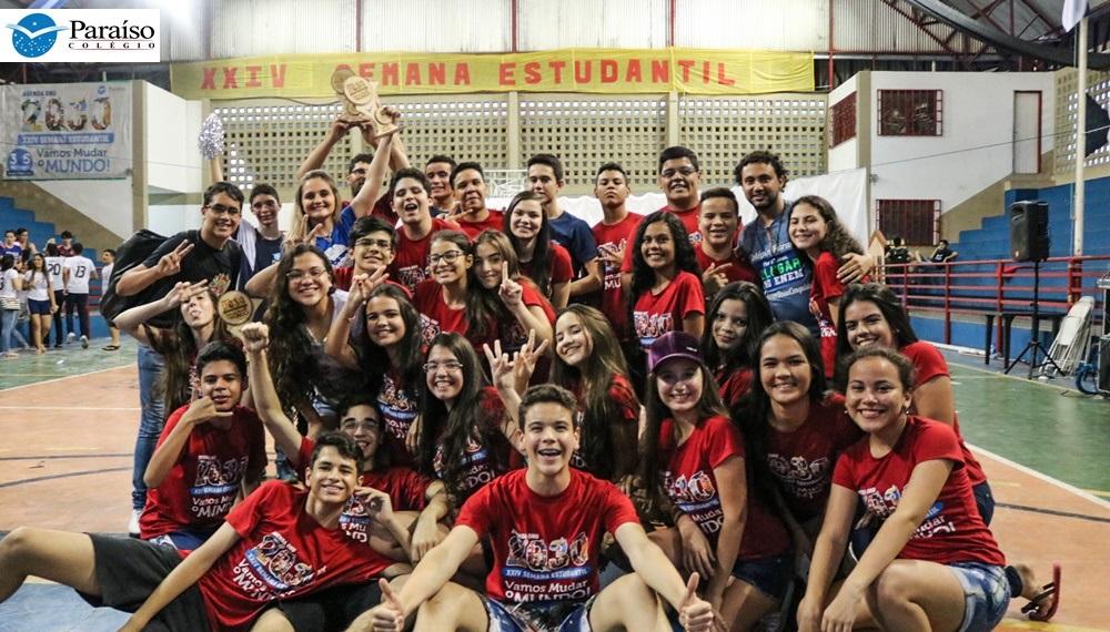 XXIV Semana Estudantil do Colégio Paraíso – Vamos Mudar o Mundo