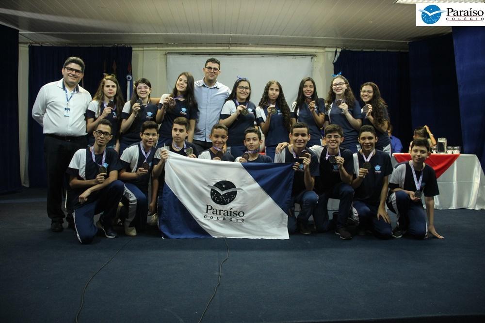 Olimpíada Brasileira de Raciocínio Lógico 2018: 1º e 4º lugar do Brasil são do Colégio Paraíso