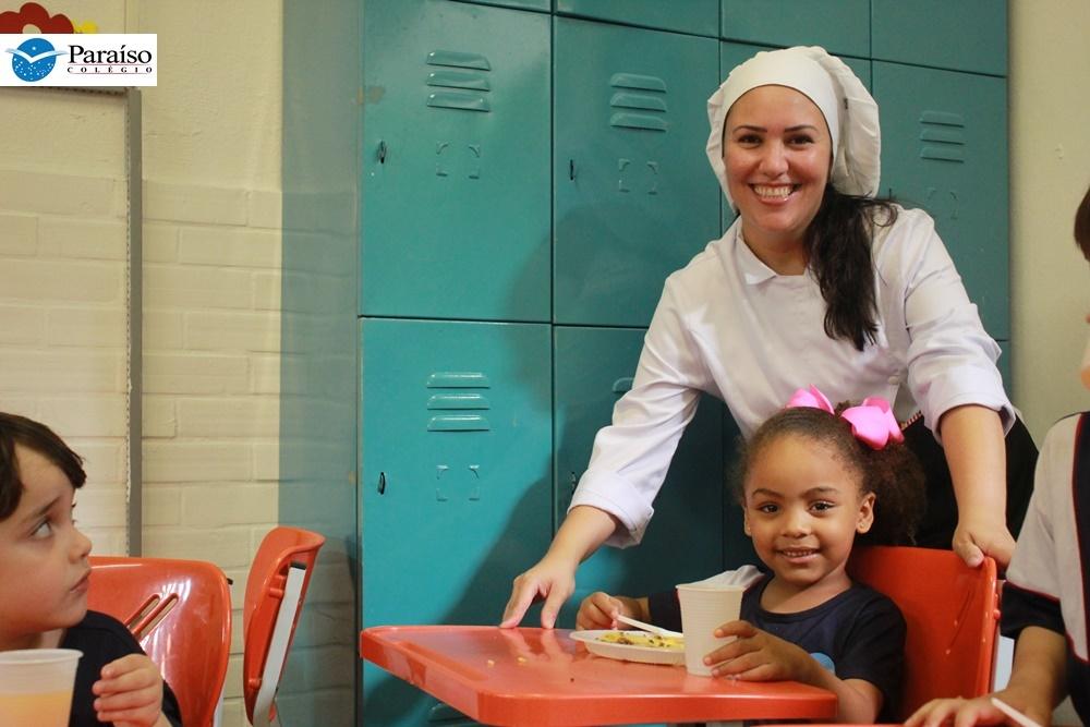 Almoço Coletivo – Educação Infantil promove aula sobre Educação Alimentar