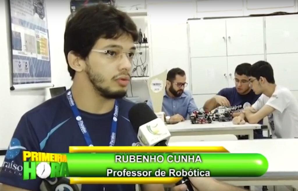 Estudantes Paraíso 1º lugar em Robótica no Brasil