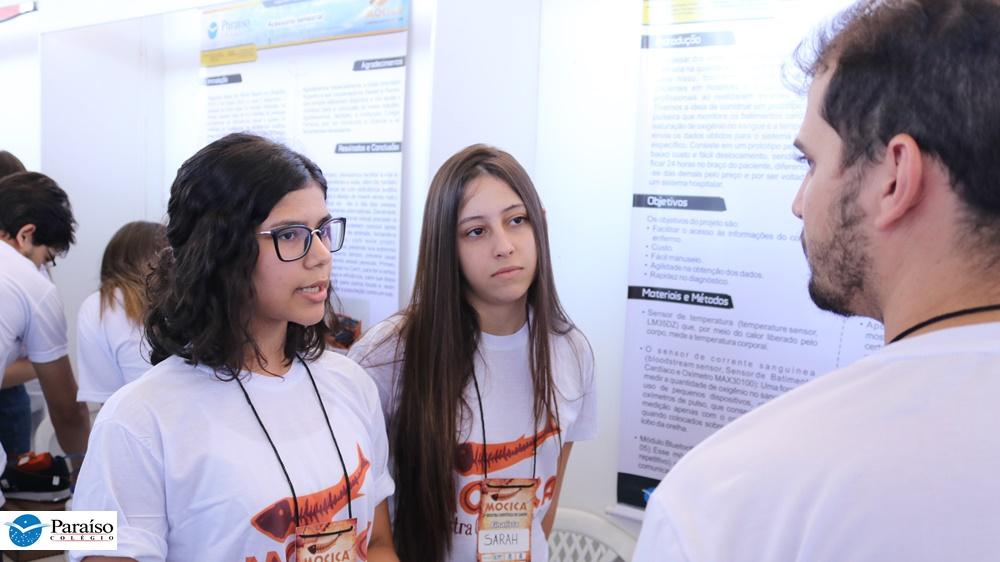 Vinte e nove projetos científicos do Colégio Paraíso são apresentados na III MOCICA