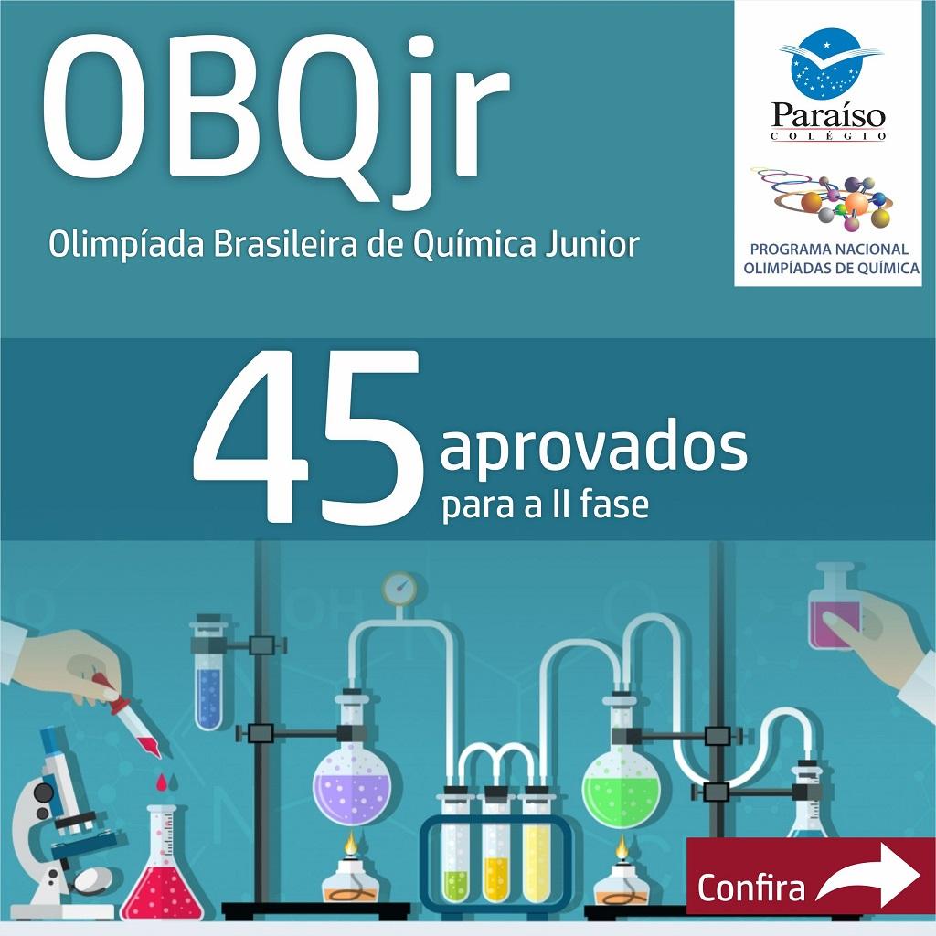 Estudantes Classificados para a II fase OBQJr
