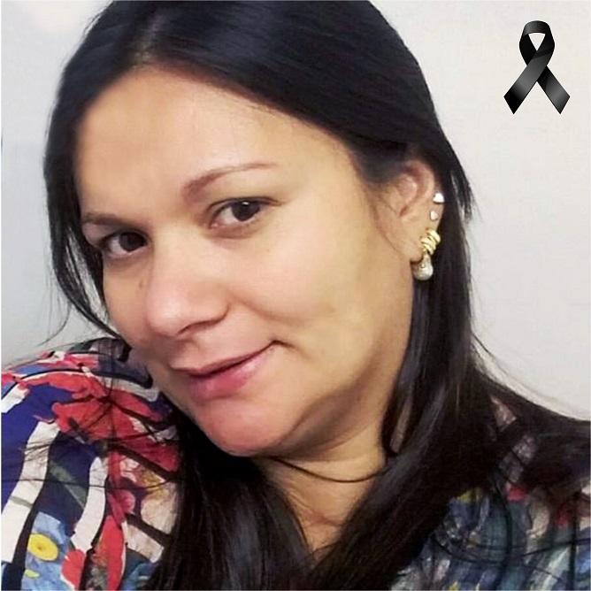 Homenagem de estudante à professora Suyanne Almeida