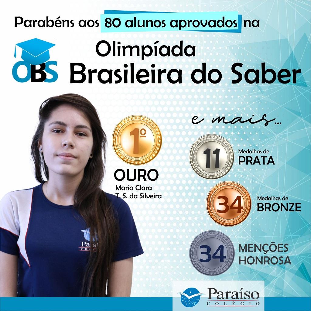 Olimpíada Brasileira do Saber 2019