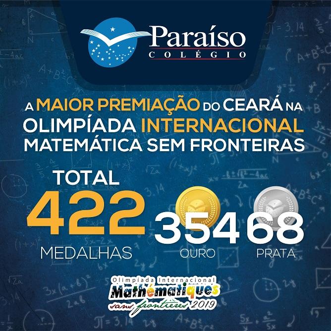 Estudantes Paraíso conquistam a maior premiação do Ceará na MSF 2019