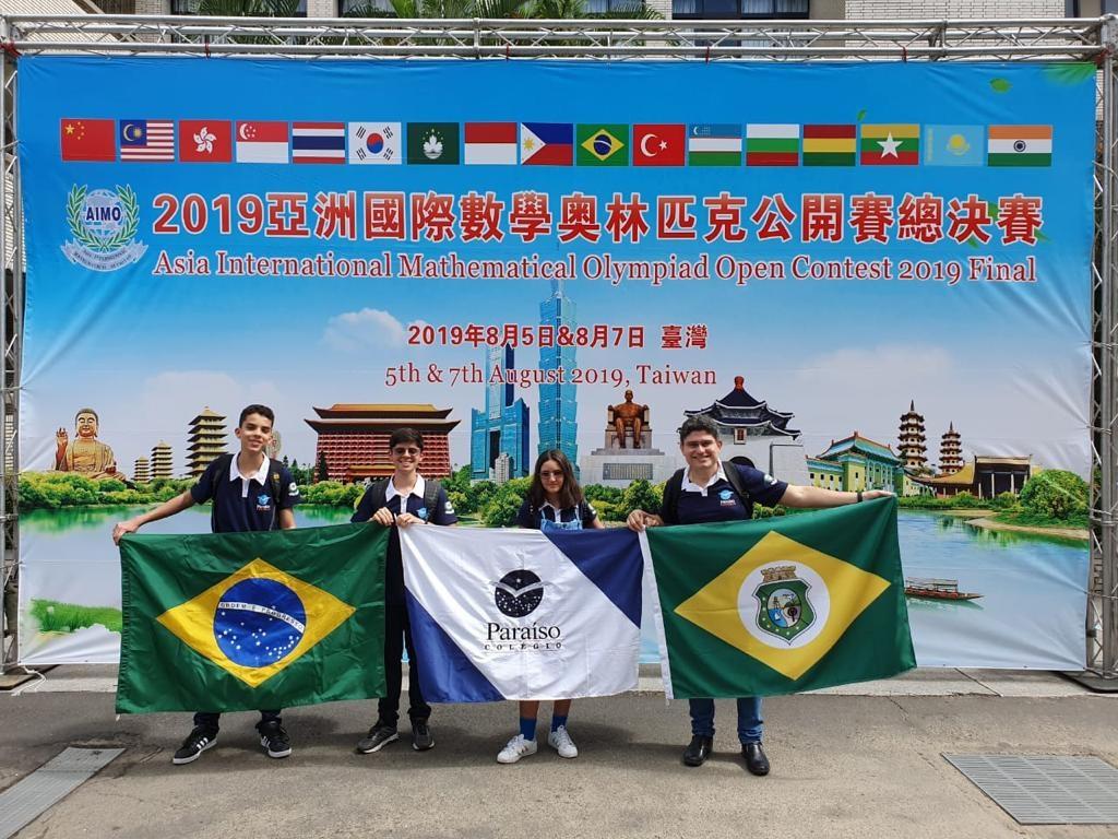 Mais uma vez, o Colégio Paraíso participa da maior olimpíada de matemática do mundo.