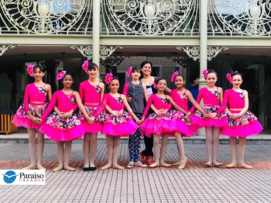 Bailarinas do CP são premiadas no Festival Dança Criança 2019