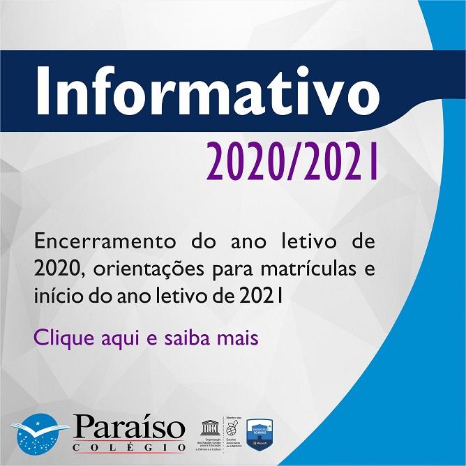 Informativo 2020/2021